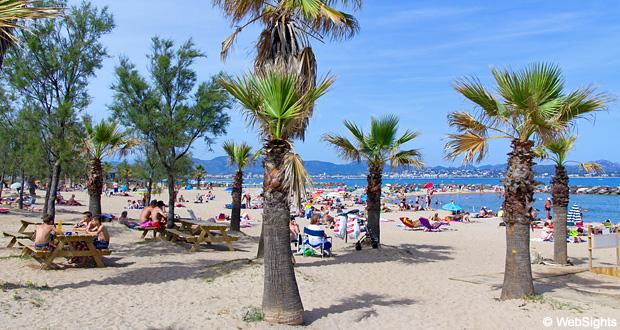 Saint-Aygulf strand