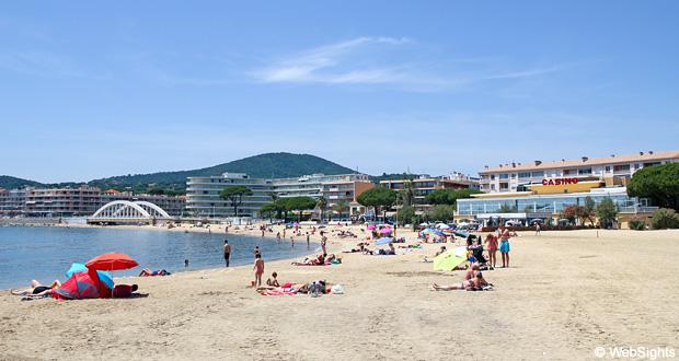Sainte-Maxime strand